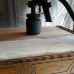 waterfall dresser (chest of drawers)
