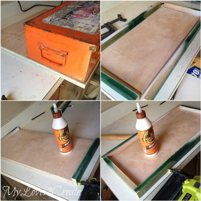 How to build a tray to fit a toolbox