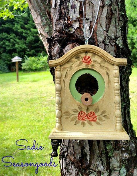 diy-birdhouse-clock