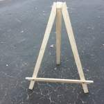 Craft Show Display Easel