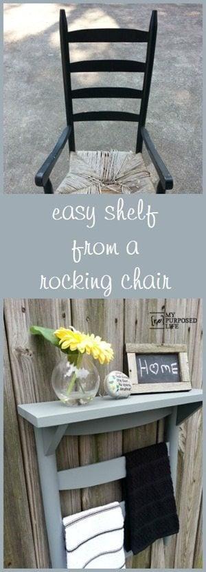 MyRepurposedLife-diy-chair-back-shelf-towel-rack
