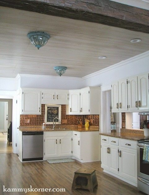 paneled-kitchen-ceiling