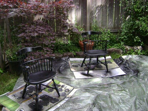 updating-vintage-dining-furniture