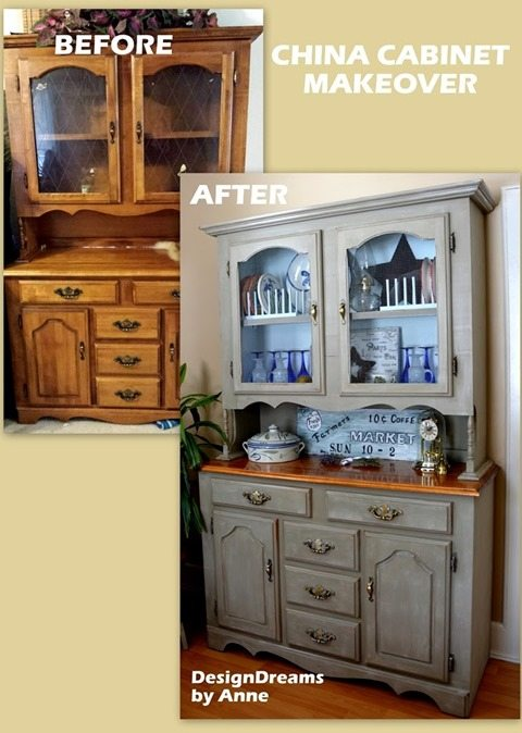 China Cabinet Before & After