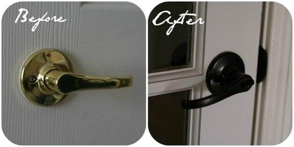 Rust-oleum-painted-door-knobs