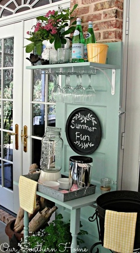door-repurposed-beverage-station