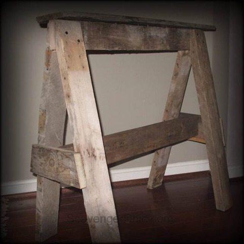 pallet-wood-sawhorse