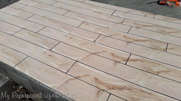 hardwood floor photo prop