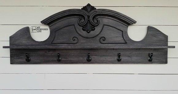 MyRepurposedLife-china-cabinet-pediment-repurposed-coat-rack
