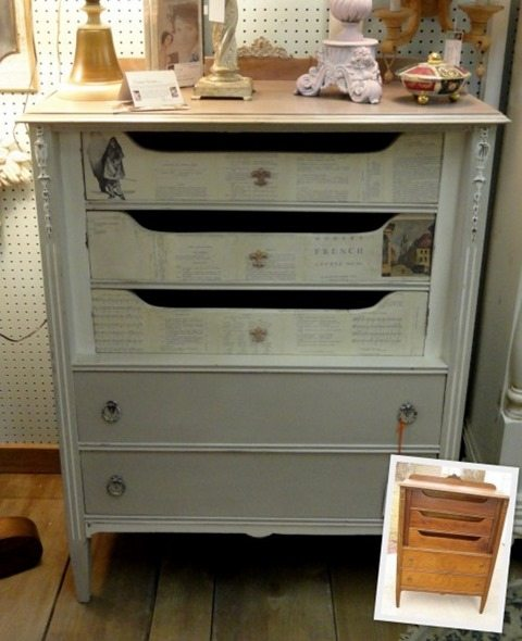 french-ephemera-decoupaged-dresser