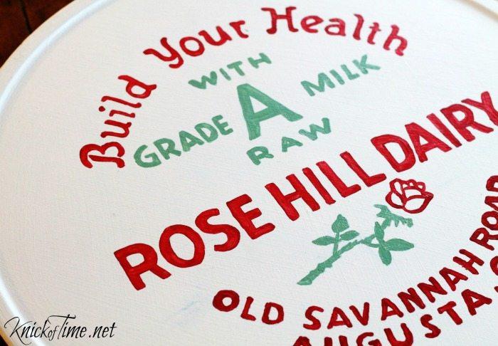 milk cap sign