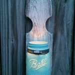 Mason jar vases and sconces