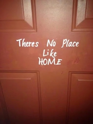 no-place-like-home-front-door