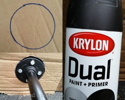 how-to-spray-paint-screws