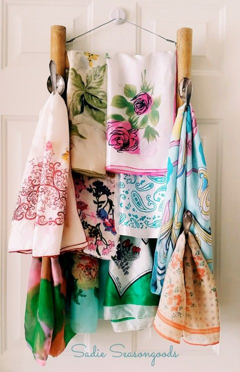 repurposed-chair-scarf-rack