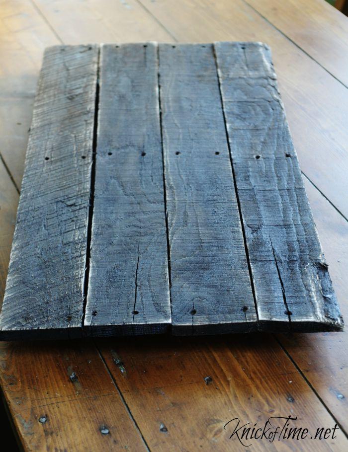 distressed pallet wood