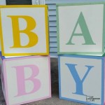 Baby Shower ABC Blocks