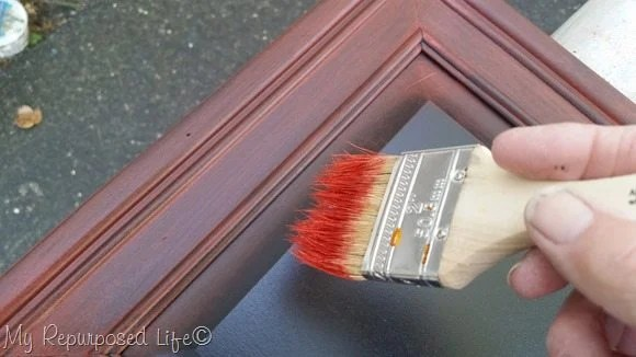 a cheap chip brush is great for dry brushing