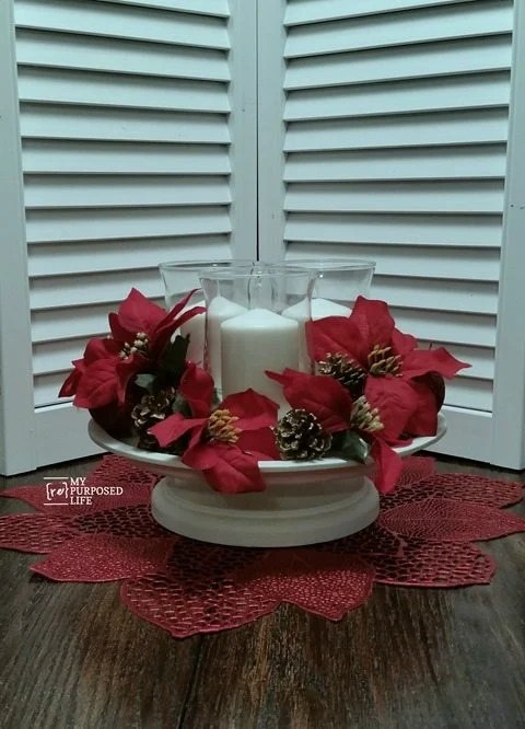 My Repurposed Life-Easy Christmas Decor with Krylon Spray Paint