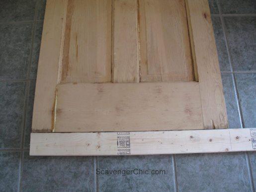 Transform a Vintage Door into a sliding Barn Door, diy