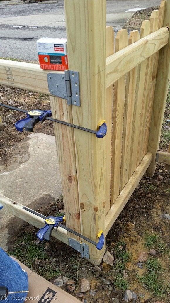 gate-hinges