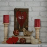 rustic valentine decor MyRepurposedLife.com