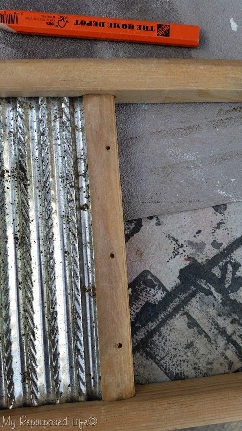 pre-drill holes