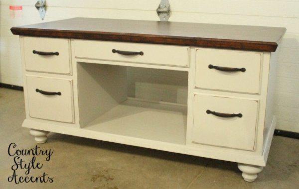 repurposed desk