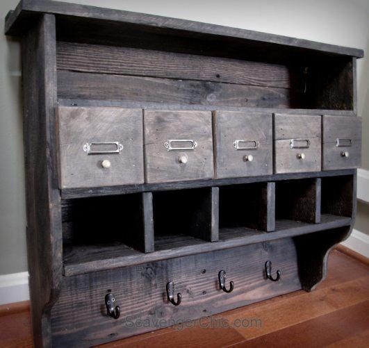 Pallet Wood Shelf: My Repurposed Life®