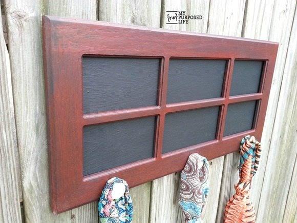 MyRepurposedLife-scarf-hanger-chalkboard