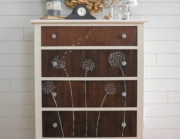 dandelion handpainte dresser start at home decor