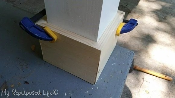 dry fit with clamps
