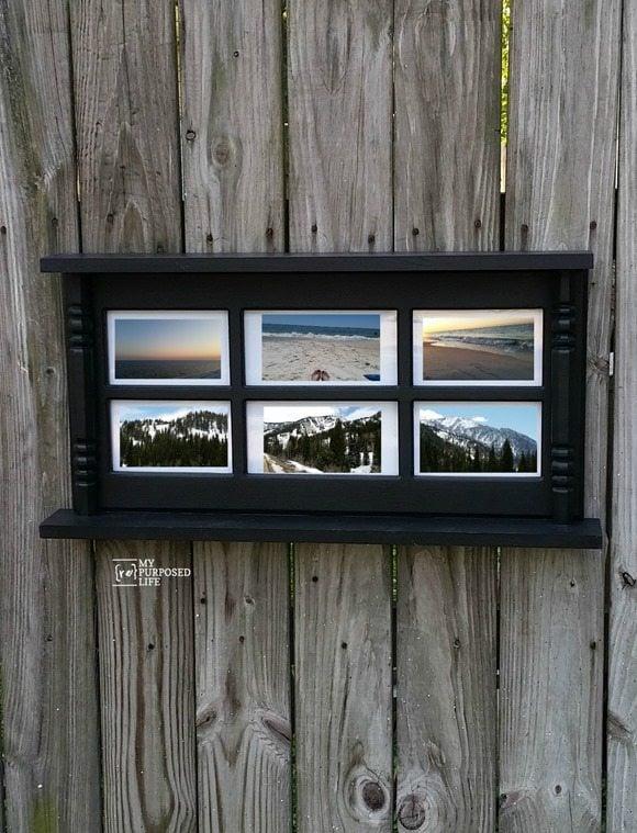 Photo Display Wall Shelf My Repurposed Life