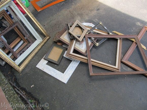 assorted frames before