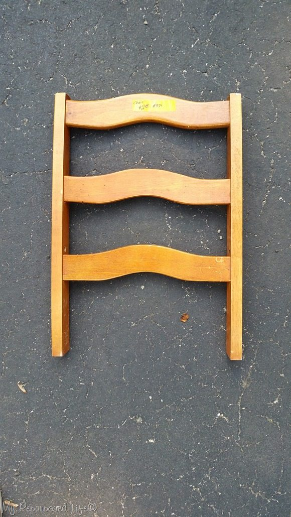 cut off chair back