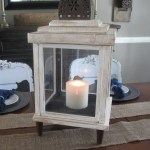 Turn Old Frames into a Lantern