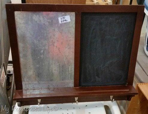 chalkboard magnetic memo