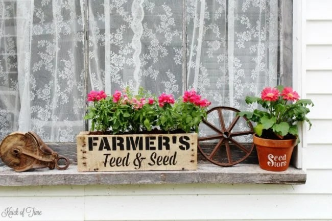 pallet window boxes