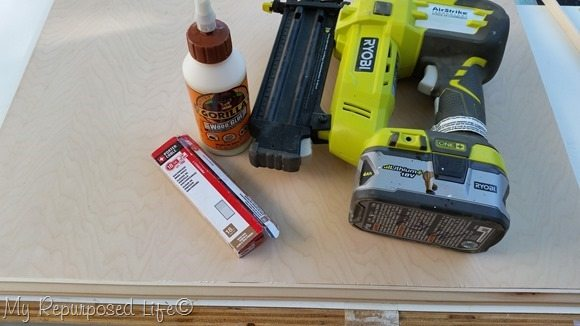 adding trim to plywood