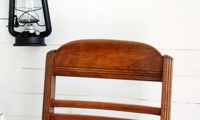 mid century chair back