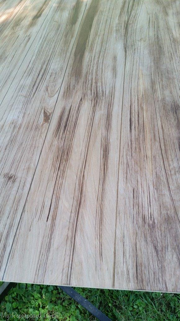 faux whitewashed faux floor
