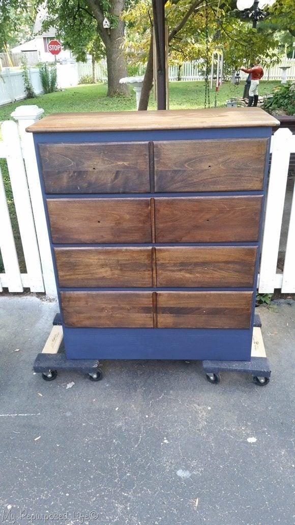 old dresser new look