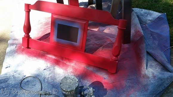 red headboard project
