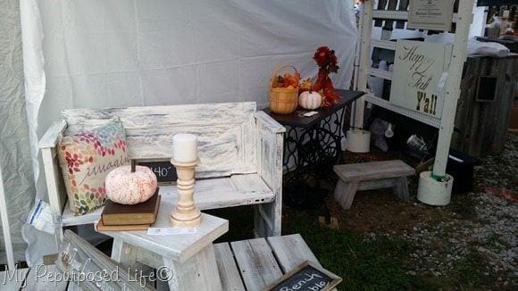 door bench glendale crossing days MyRepurposedLife.com