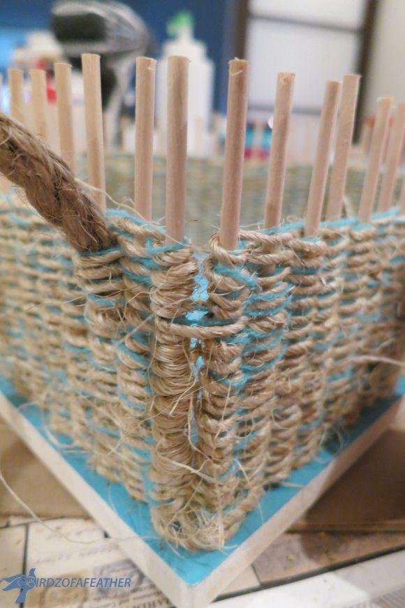 double-back-weaving