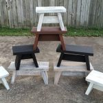one board stools and benches | easy tutorial