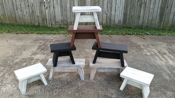 easy 2x step stools