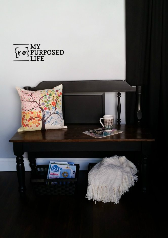 easy-twin-bed-headboard-bench-myrepurposedlife-com