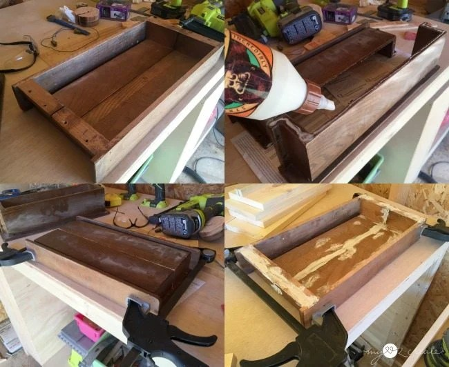 gluing-holders-to-make-a-tray
