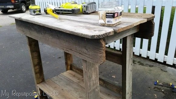 upper portion outdoor bar